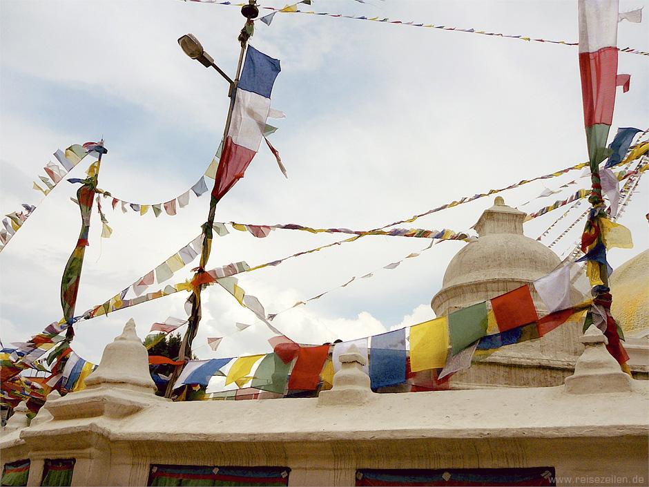 Nepal - Kathmandu - Reisen - Stupa Bodnath