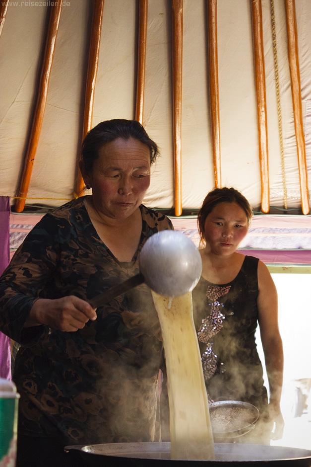 Mongolei Urlaub