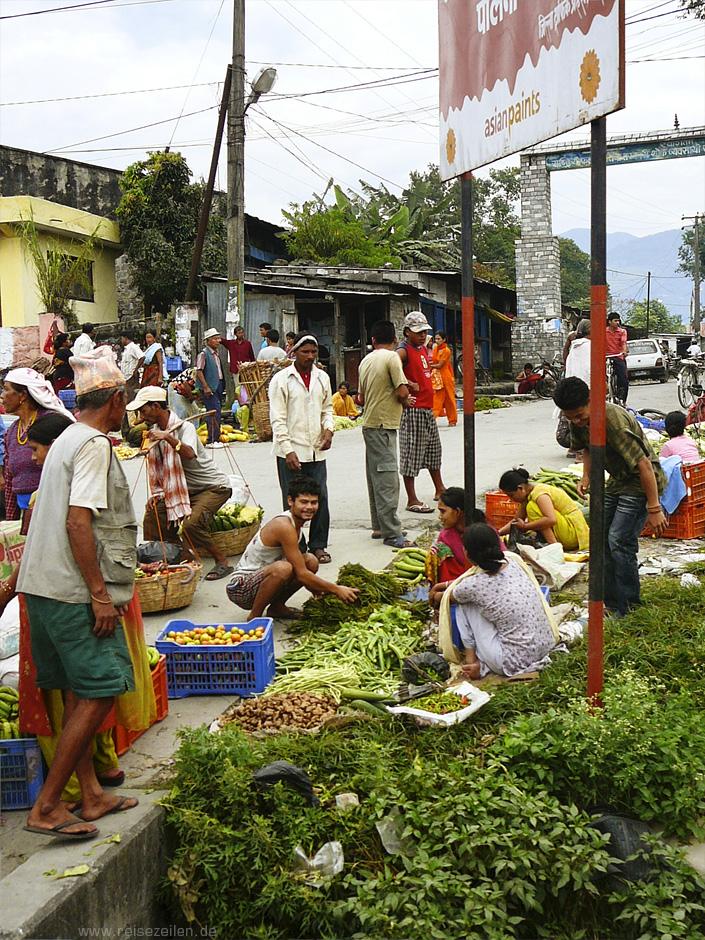 Reisen_Nepal_Reisetipps_Gemüsemarkt