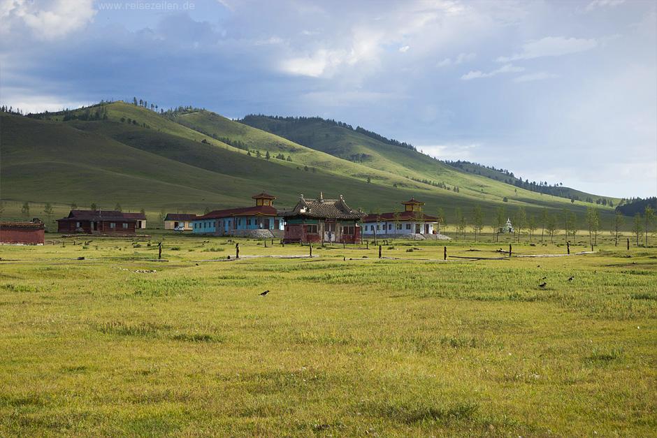 Reisetipps Reisen Mongolei Bilder Klostergebäude