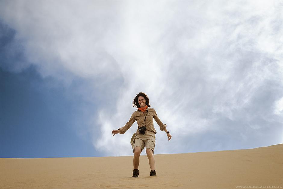 Beatrice von Reisezeilen in der Mongolei - Wüste Gobi