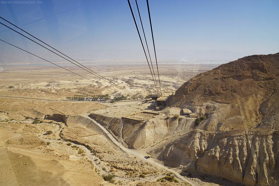 Israel Reisen Reisetipps Masada Seilbahn