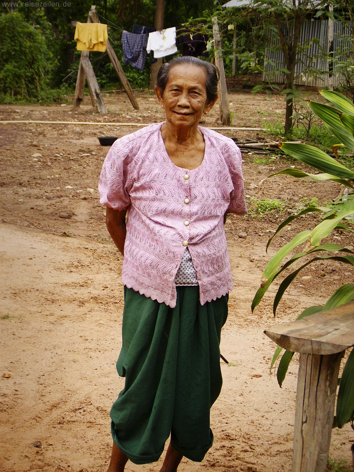 Beautiful old lady - Thailand