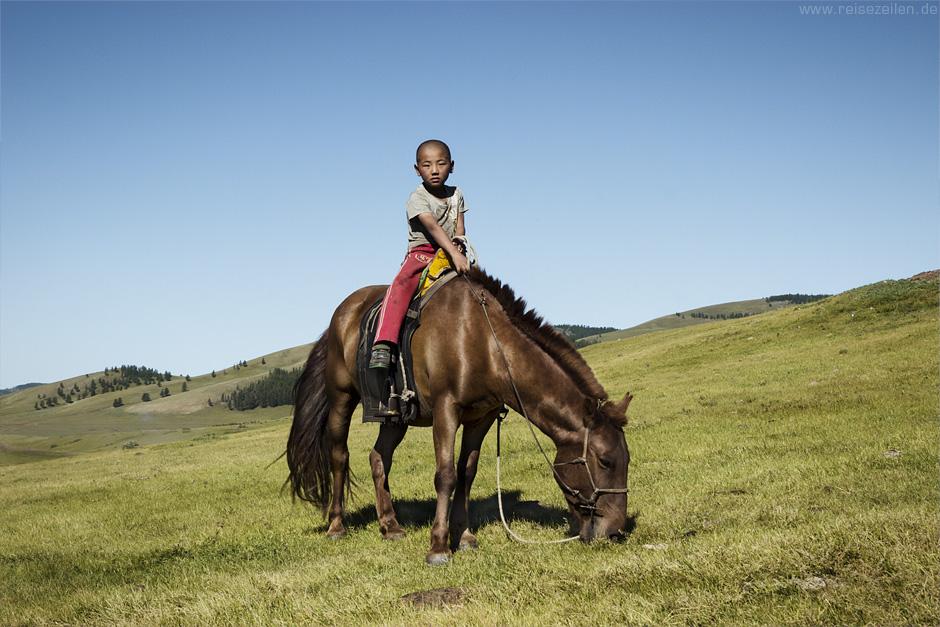 Reitervolk der Mongolen - Mongolei - Reiseland Mongolei