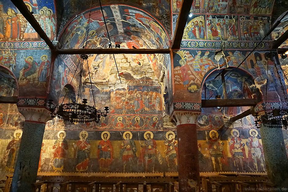 Albanien Reisebericht Reisetipps Orthodoxe Kirche bei Voskopoja