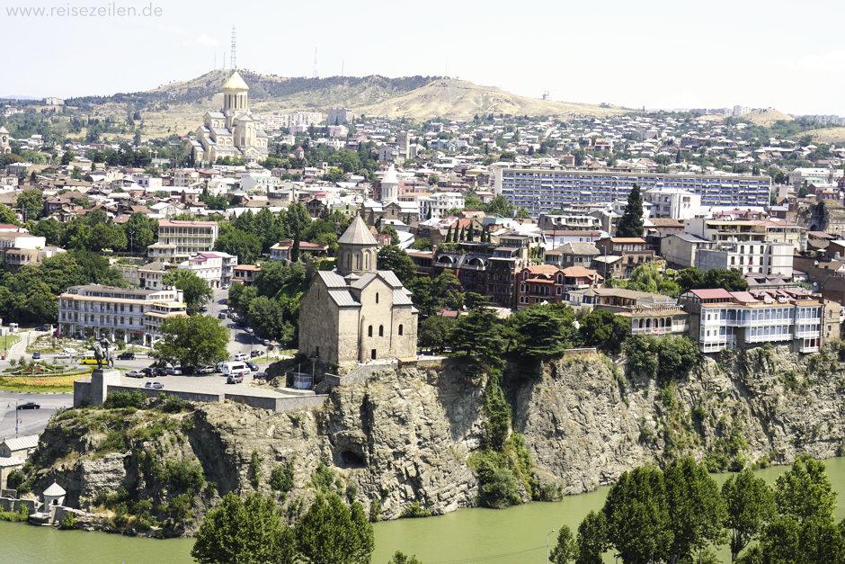 Tiflis, die Hauptstadt von Georgien