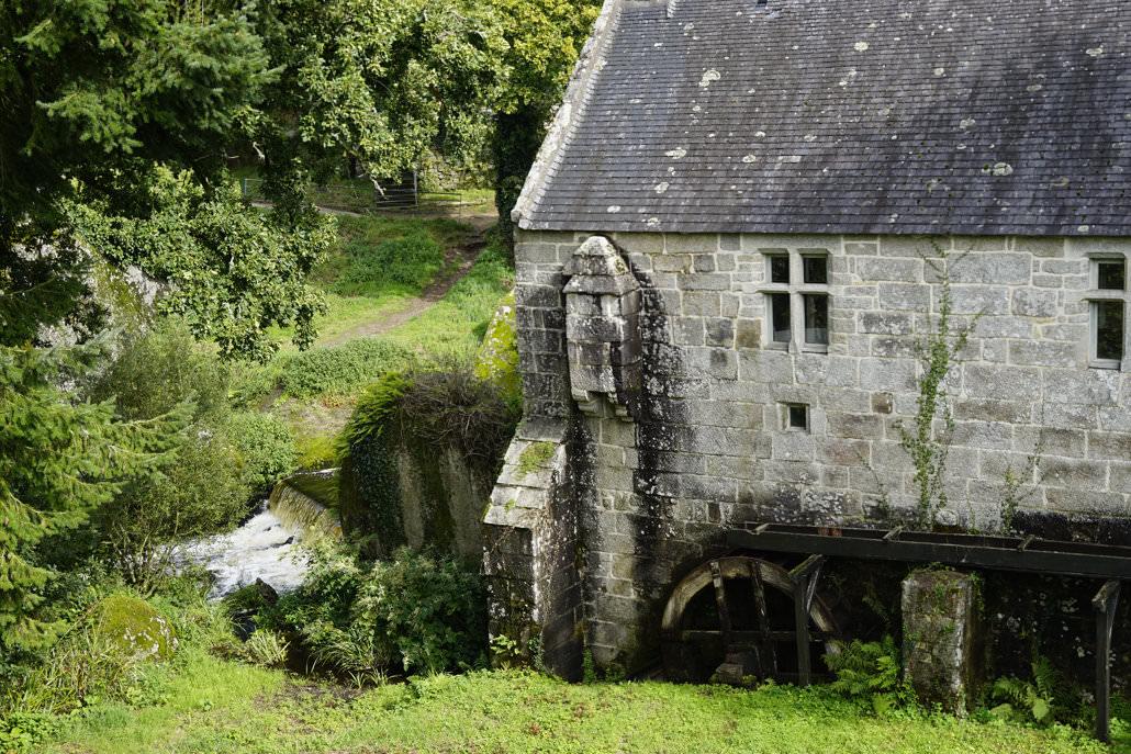 Wassermühle in der Bretagne