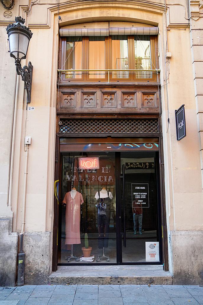 kaif Designer Shop - Valencia Sehenswürdigkeiten