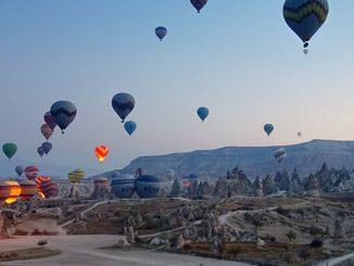 Heißluftballon fahren