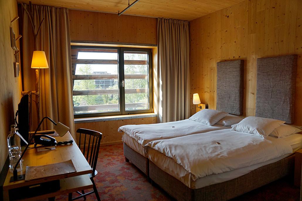 Standard-Zimmer im Wälderhaus Hamburg