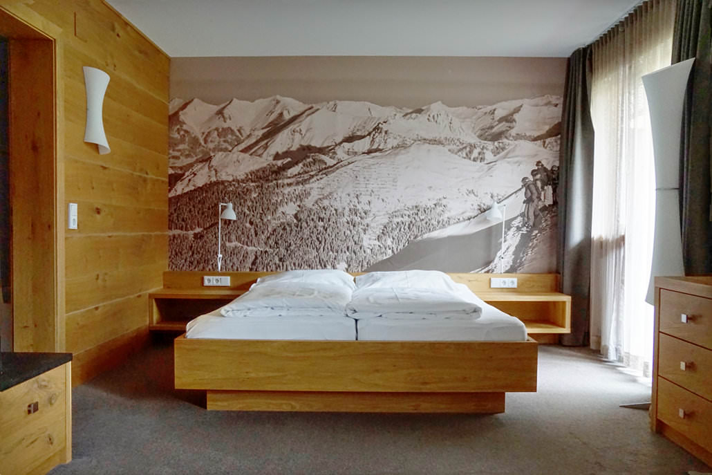 Zimmer im Montafon Hotel
