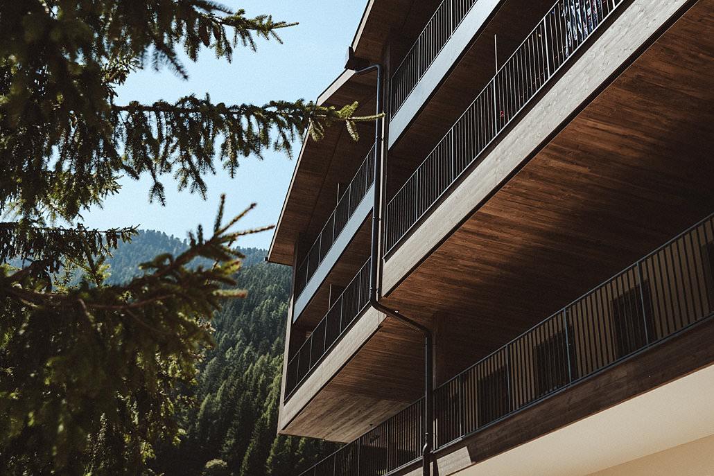 Fassade Südtirol Hotel Mea Via