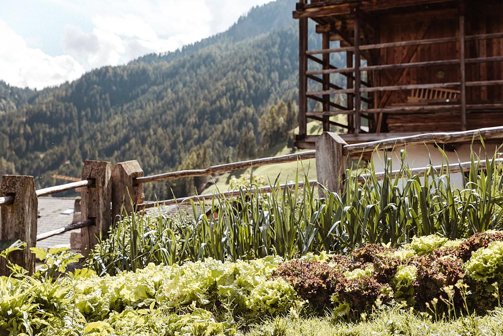 Garten im Südtirol Hotel Mea Via