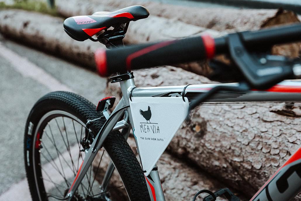 Mountainbike Touren rund um das Südtirol Hotel Mea Via