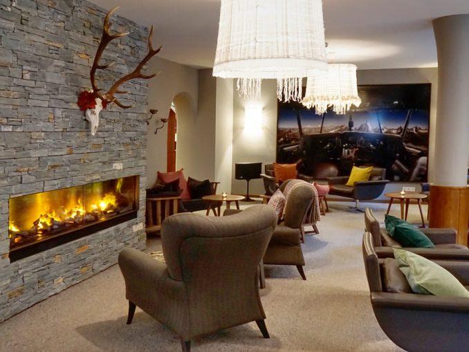 Foyer im Valluga Hotel St. Anton