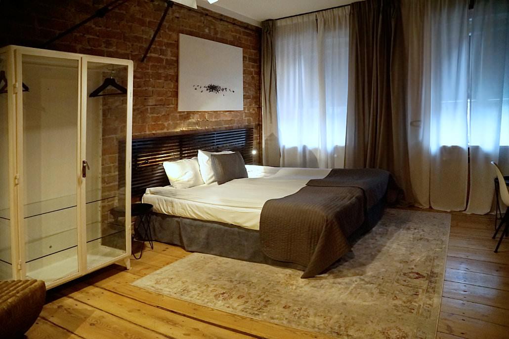 Hotelzimmer im Arthotel Stalowa52